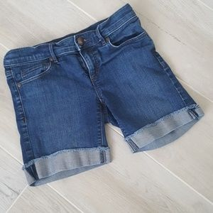 Loft Bermuda Denim Shorts